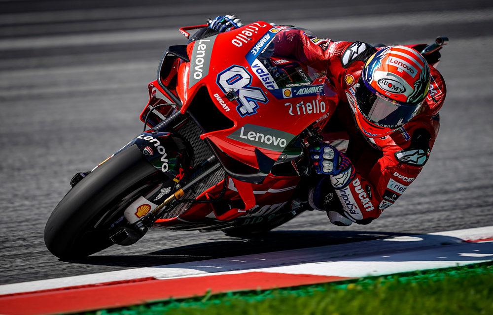 Dovizioso doblega a Márquez en el Gran Premio de Austria de MotoGP