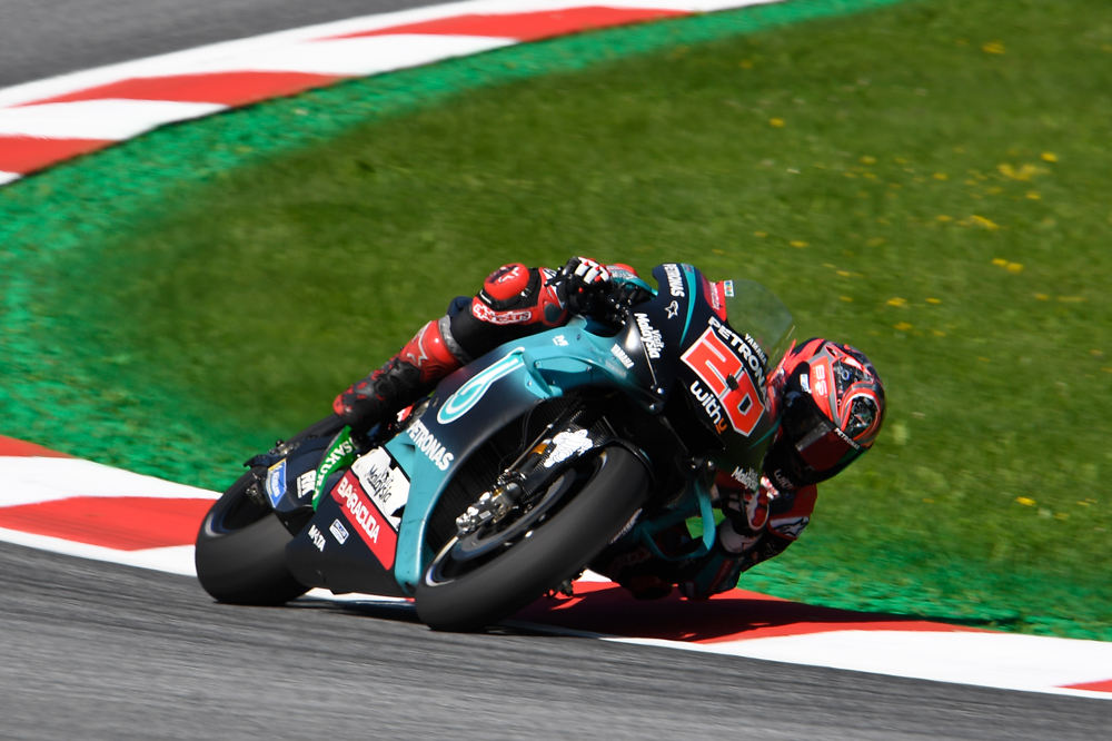 Quartararo ha logrado más podios que Rossi y Viñales con la Yamaha Satélite