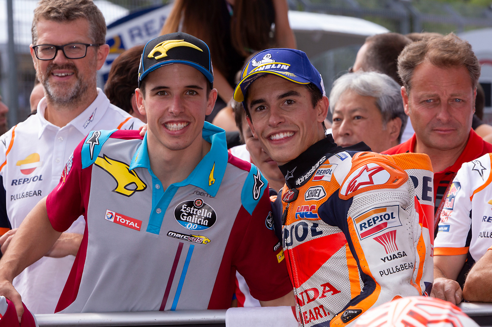 Los hermanos Márquez celebran sus vicdtorias tras el GP de República Checa