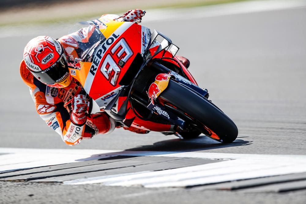 Marc Márquez GP Gran Bretaña 2019