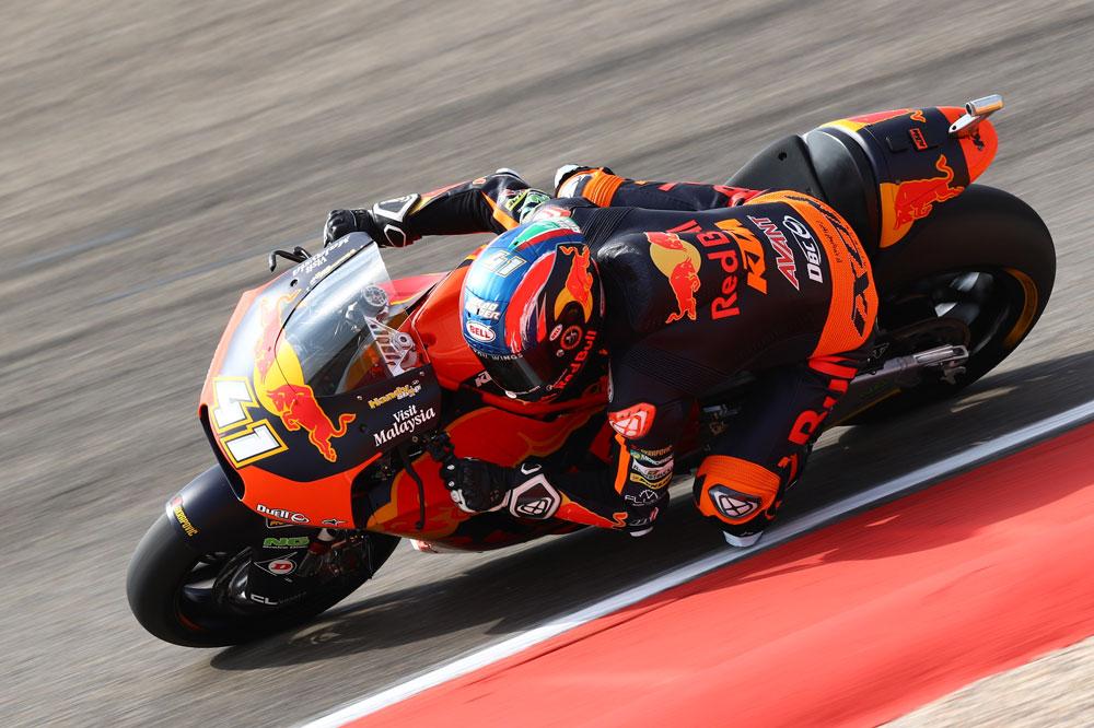 Brad Binder logró la victoria en la categoría Moto2 del Gran Premio de Aragón