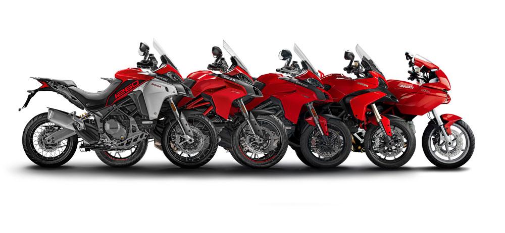 Todas las generaciones de la Ducati Multistrada