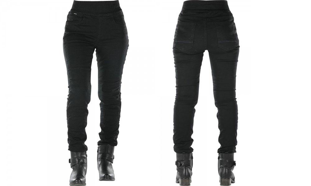 Leggings para moto Jane de Overlap en negro
