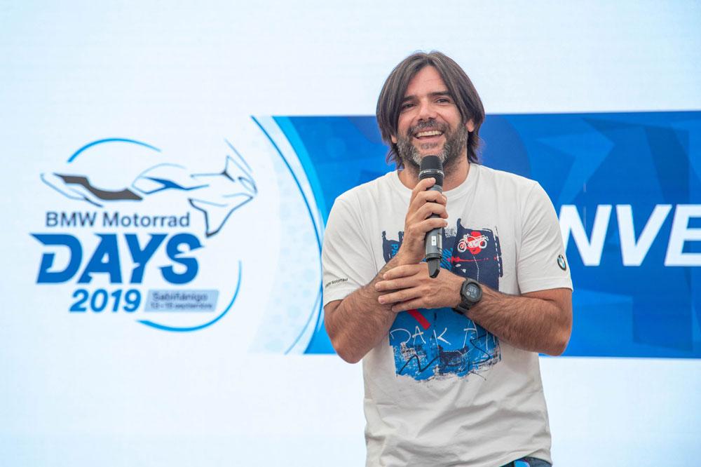 Chary Sinewan, uno de los embajadores del BMW Motorrad Days