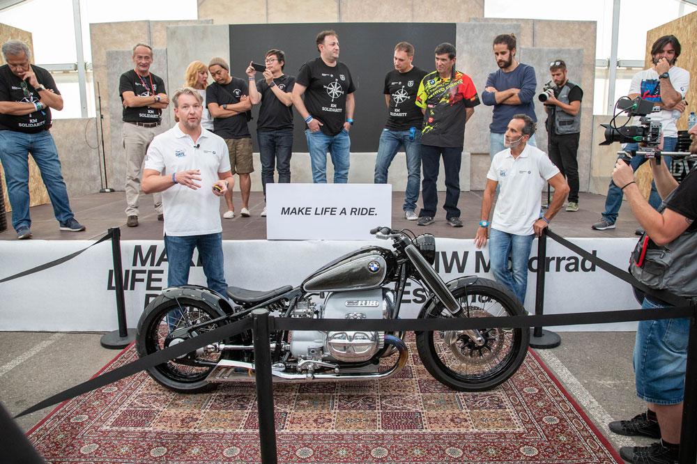 La BMW Concept R18 en el BMW Motorrad Days