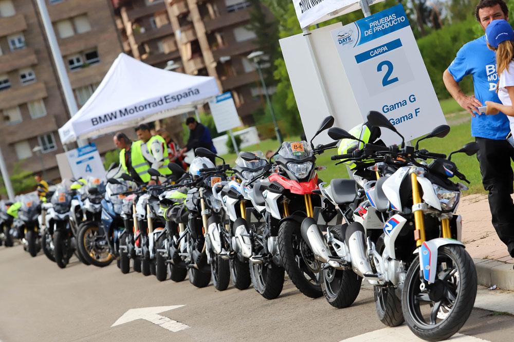 Pruebas de motos en el BMW Motorrad Days 2019