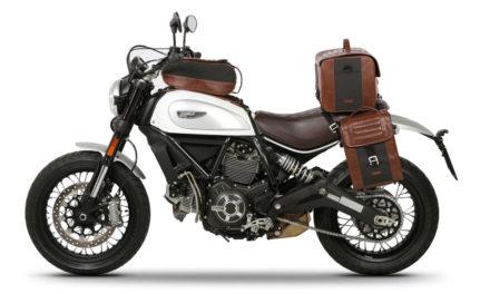 Equipa tu Ducati Scrambler con las Bolsas SR Cafe Racer de SHAD