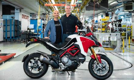 La Ducati Multistrada llega a las 100.000 unidades