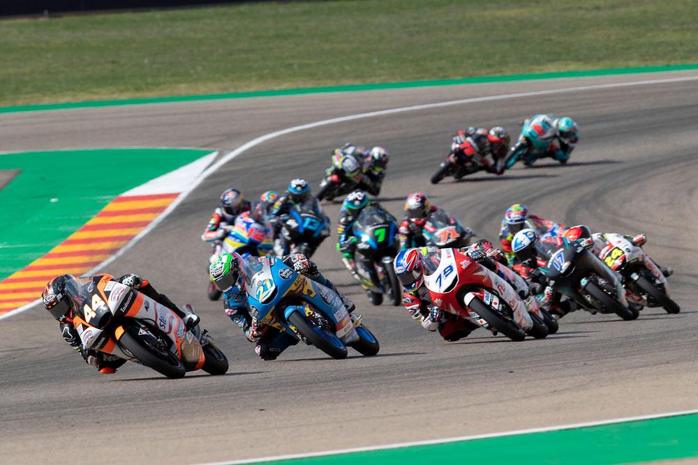 Carrera de Moto3 del Gran Premio de Aragón