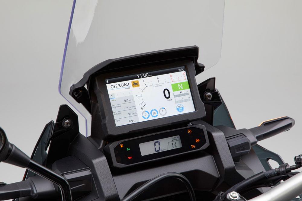 Cuadro de instrumentos de la Honda CRF 1100 L Africa Twin 2020
