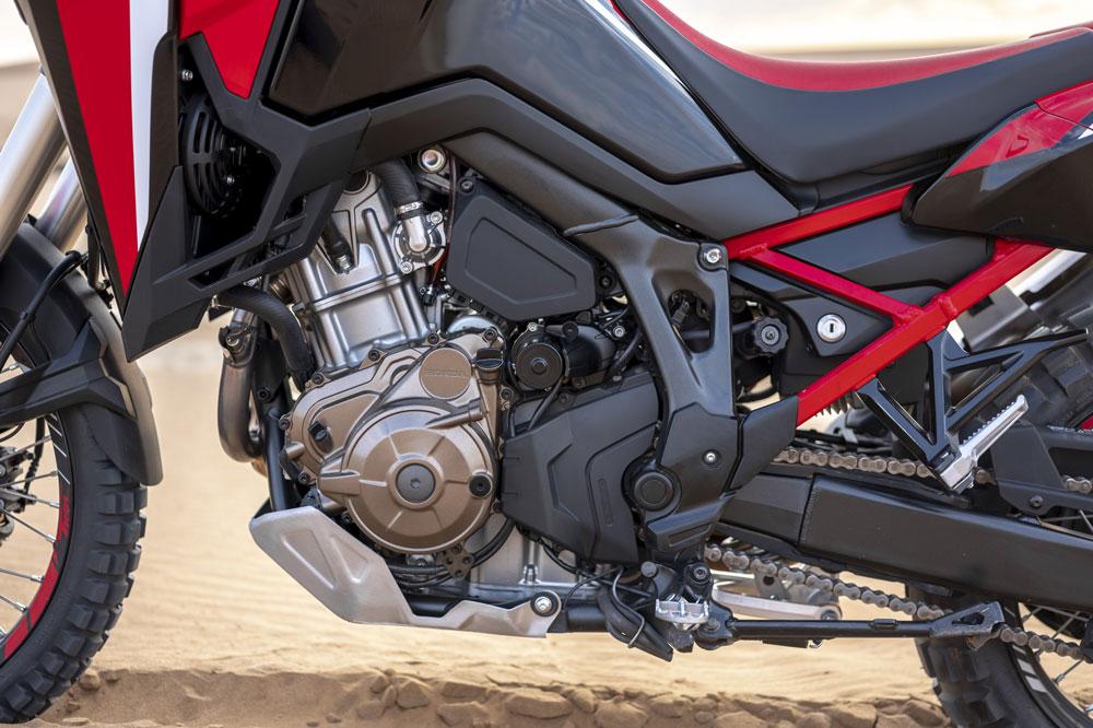Motor de la Honda CRF 1100 L Africa Twin
