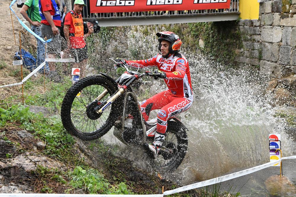 Jeroni Fajardo ha destacado en el Mundial de Trial con Gas Gas