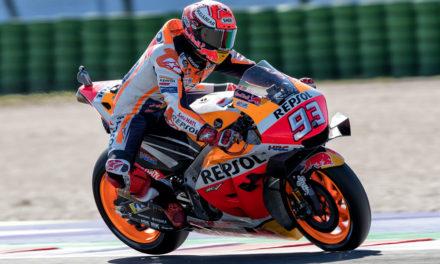 GP San Marino: Márquez supera la prueba de las Yamaha