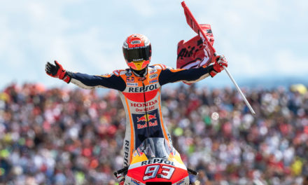 Marc Márquez sentencia el Mundial de MotoGP en Aragón