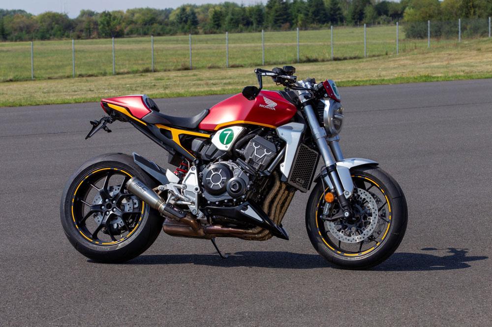 Honda CB 1000 R finalista del concurso de transformaciones de Glemseck 101 en Alemania