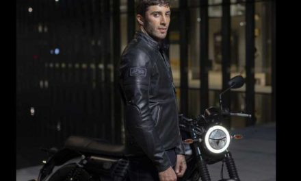 Chaqueta para moto Vintage Leather de Spidi