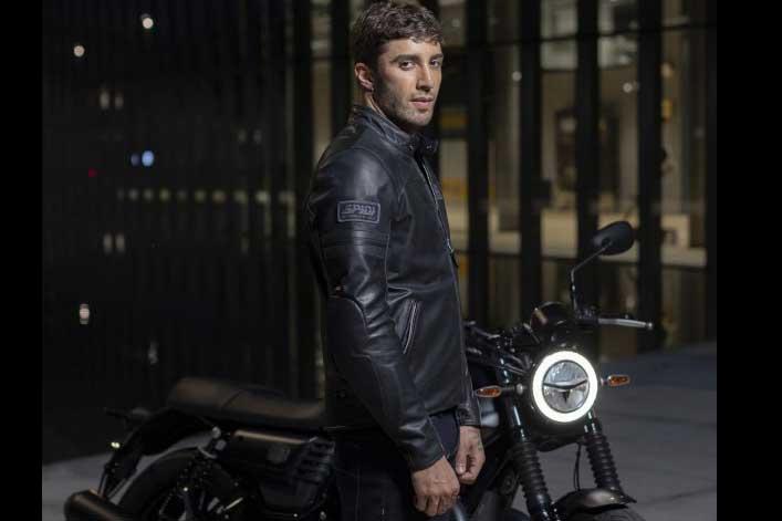 Chaqueta para moto Vintage Leather de Spidi