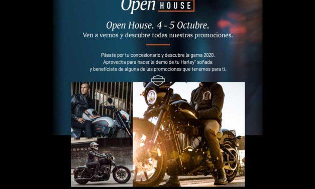 Ven al Open House Harley-Davidson este fin de semana