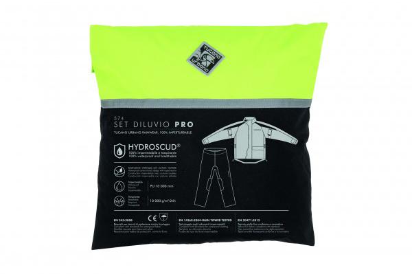 Set de chaqueta y pantalón Diluvio Pro de Tucano Urbano