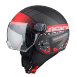 Casco mini jet Capital Vision de NZI