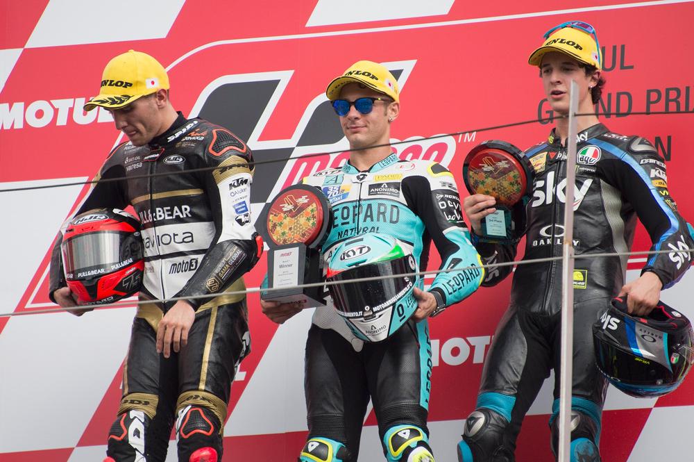 Con la victoria en el GP de Japón Lorenzo Dalla Porta tiene casi en el bolsillo el título en Moto3