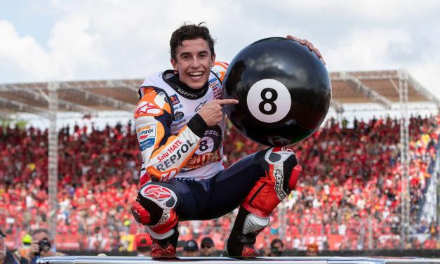 Marc Márquez: No me he obsesionado nunca con un número ni con un nombre