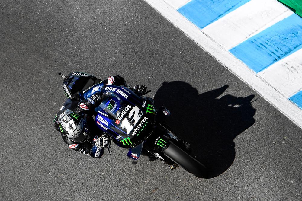 Maverick Viñales estuvo luchando hasta el último momento por la victoria en el Gran Premio de Australia