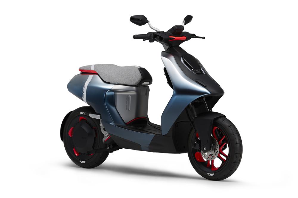 Scooter eléctrico Yamaha E02