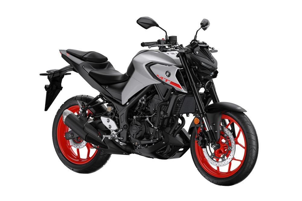 La Yamaha MT 03 evoluciona en su estética con un diseño mucho más agresivo