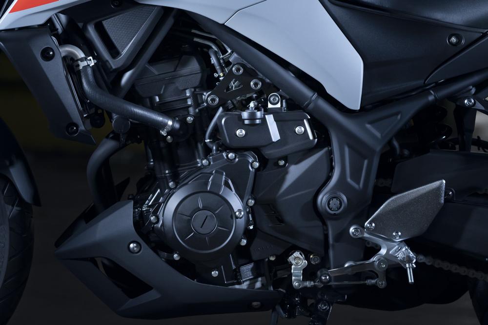 Motor de la Yamaha MT 03 2020