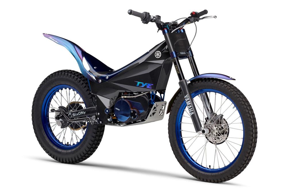 La Yamaha TY E es la moto de trial eléctrica de la firma de los diapasones
