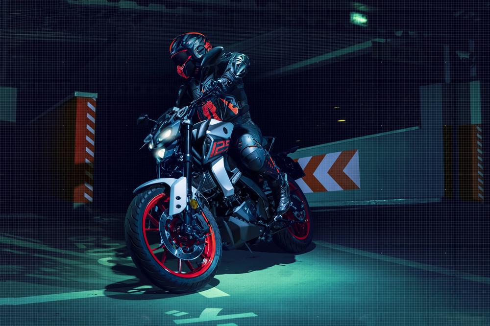 El chasis de la Yamaha MT 125 es de tipo Deltabox