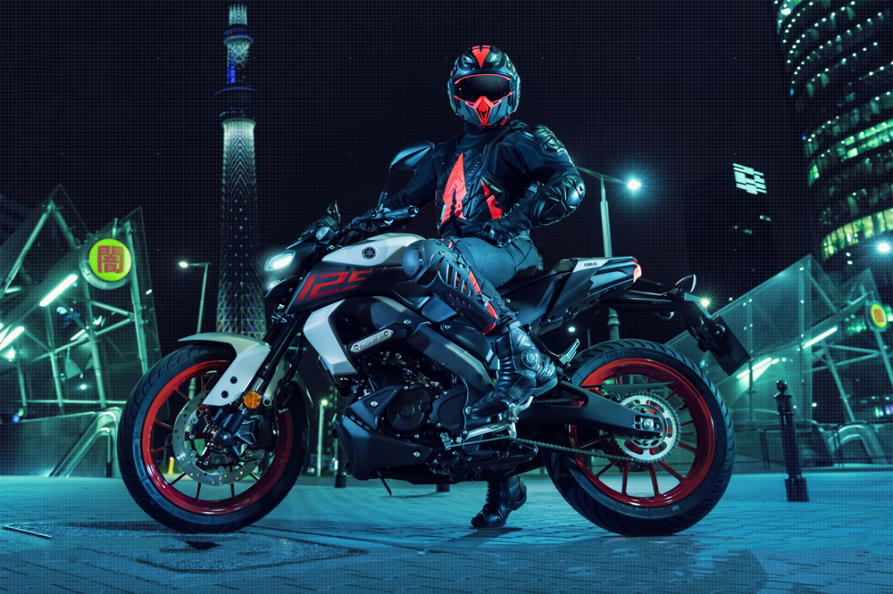 La Yamaha MT 125 2020 estrena moto con distribución variable