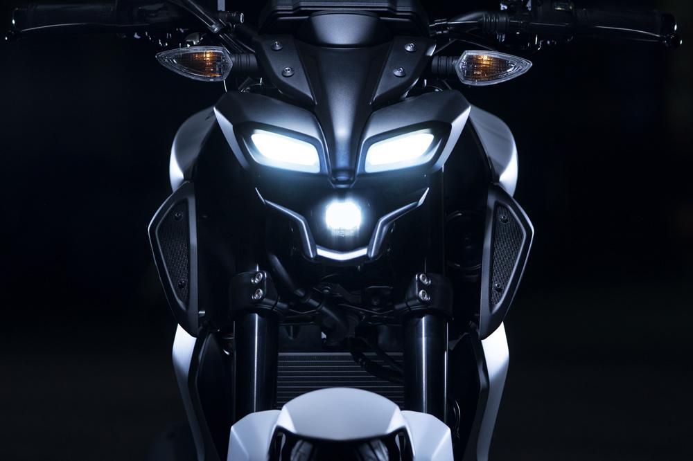 Conjunto de faros de la Yamaha MT 125