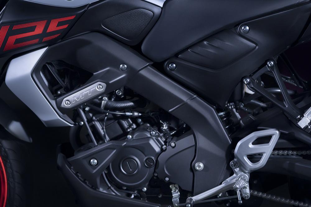 La Yamaha MT 125 tiene embrague asistido y antirrebote