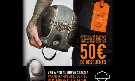 Llévate un casco Harley-Davidson con descuento en los Orange & Black Friday
