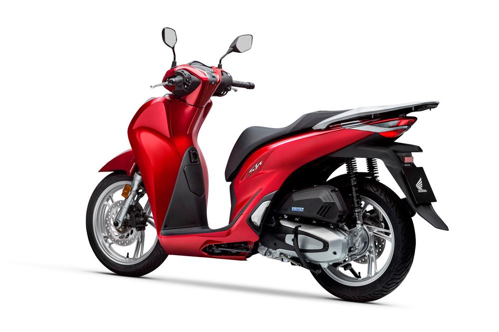 El motor del Honda SH 125 2020 emplea tecnologías de baja fricción