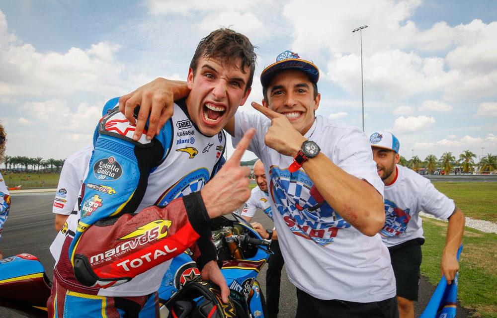 Alex Márquez, Campeón del Mundo de Moto2