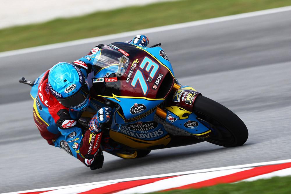 A Alex Márquez con un segundo puesto en la carrera de Malasia le bastó para el título en Moto2