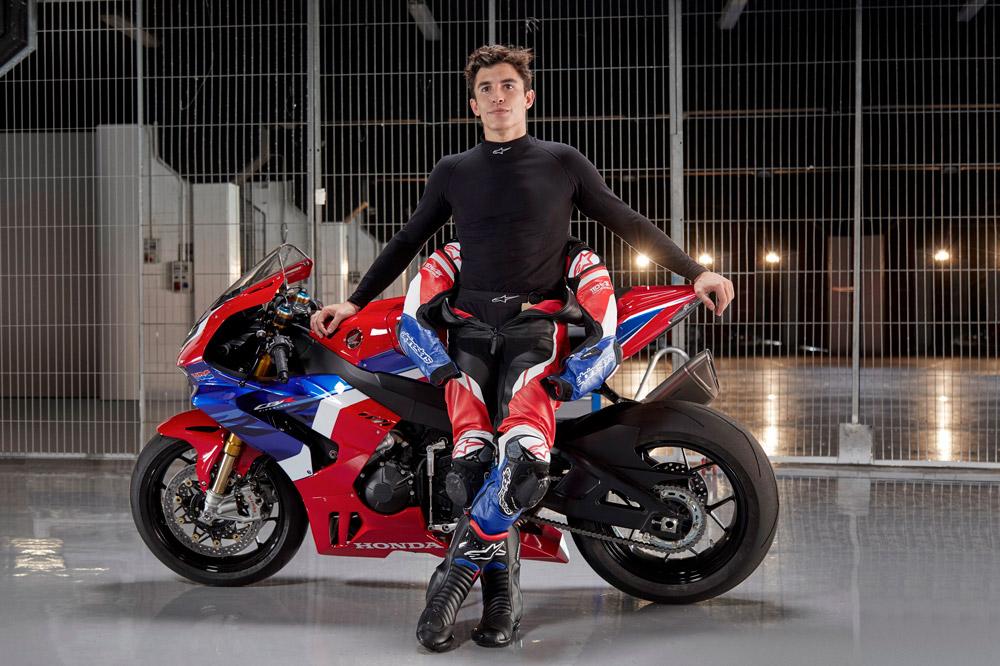Marc Márquez tiene mucha peso en el desarrollo de la Honda CBR 1000 RR-R Fireblade