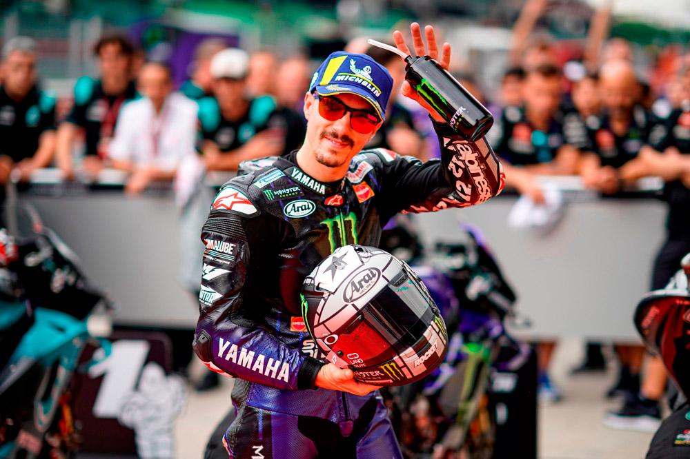 Maverick Viñales logró la victoria del GP de Malasia 2019 en la categoría MotoGP