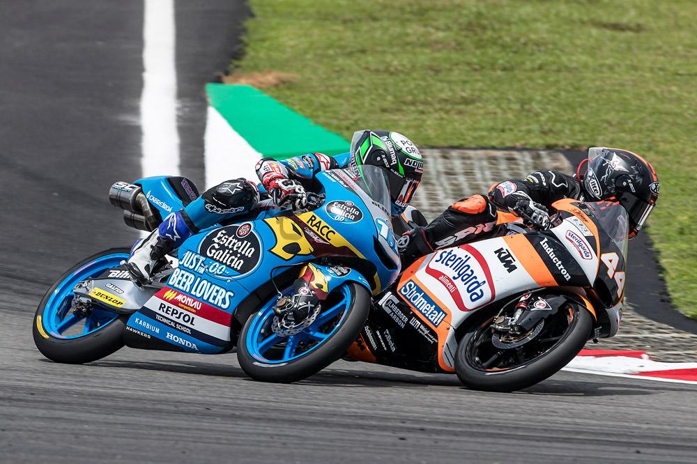 Sergio García ha protagonizado una espectacular remontada en la categoría Moto3