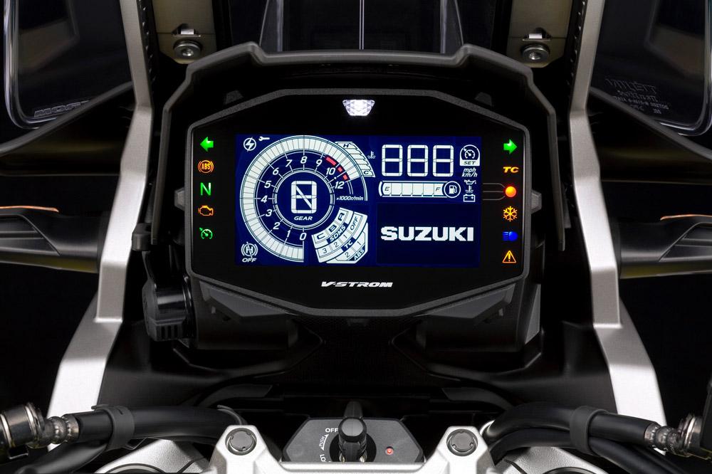Cuadro de instrumentos de la Suzuki DL 1050 V Strom 2020