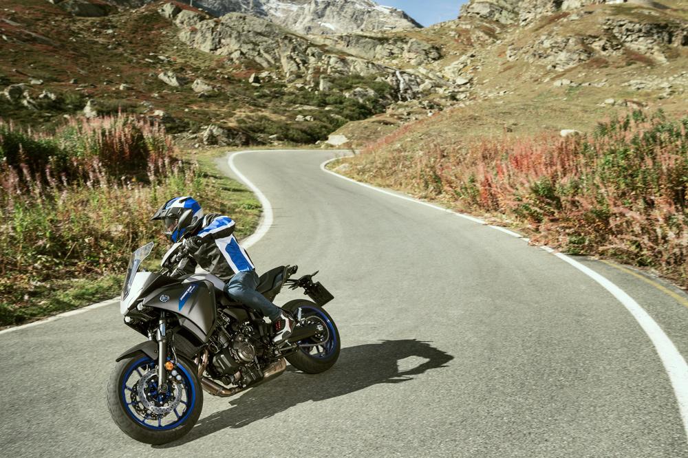 Yamaha ha conseguido una extraordinaria relación entre peso y potencia en su nueva Tracer 700