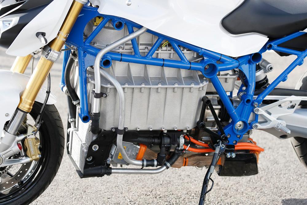 BMW E Power Roadster, moto eléctrica