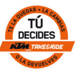 Llévate tu nueva KTM con la promoción Take & Ride