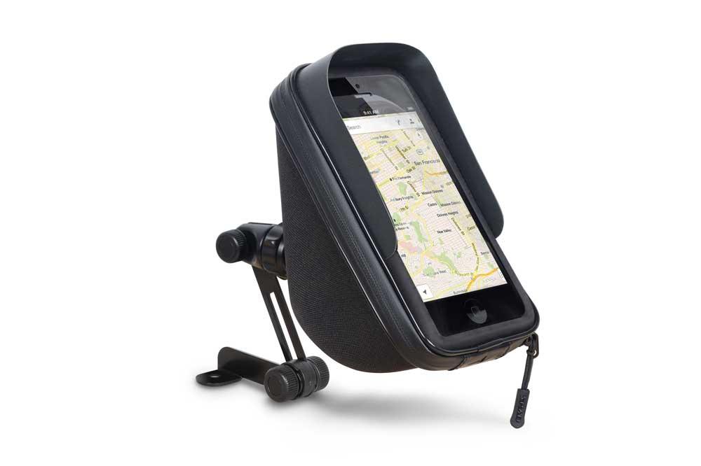 Soporte para el movil con almacenamiento X0SG75H/M de SAHD