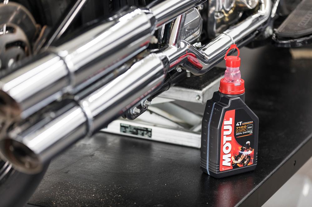 Un aceite usado puede ser perjudicial si la moto va a estar parada por un periodo prolongado de tiempo