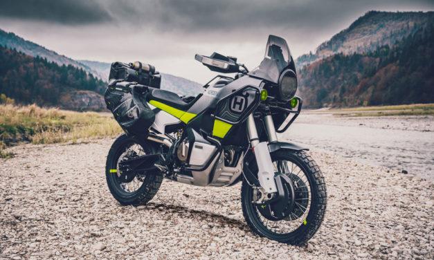 Husqvarna Norden 901, una moto trail que viene del «off road»