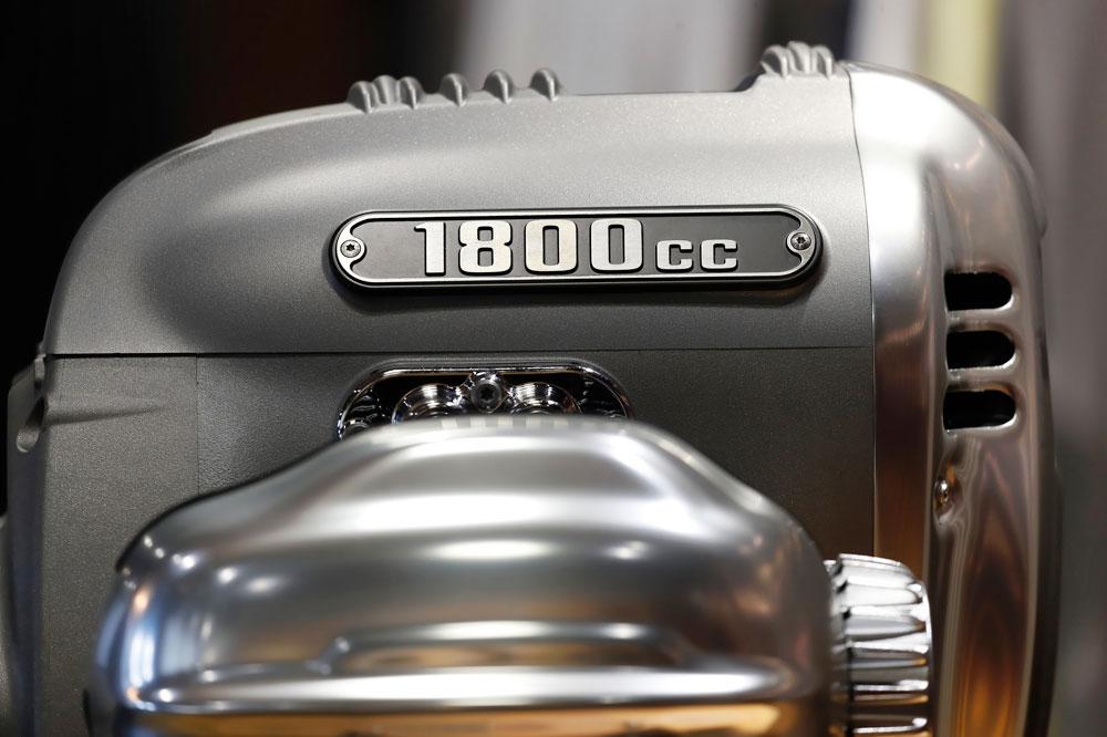 BMW ha cuidado al máximo el aspecto clásico de su nuevo motor bóxer